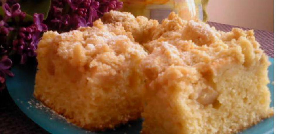 Ciasto z maślanką i jabłkami (autor: ania2610)