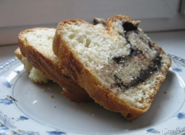 Ciasto drożdżowe z kakao