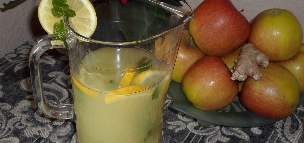 Herbata imbirowa z pomarańczą, cytryną i melisą (autor: dwa ...