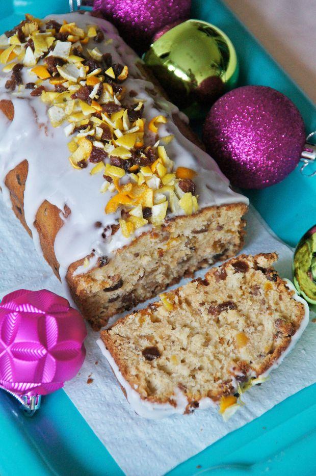 Przepis  keks świąteczny z bakaliami przepis