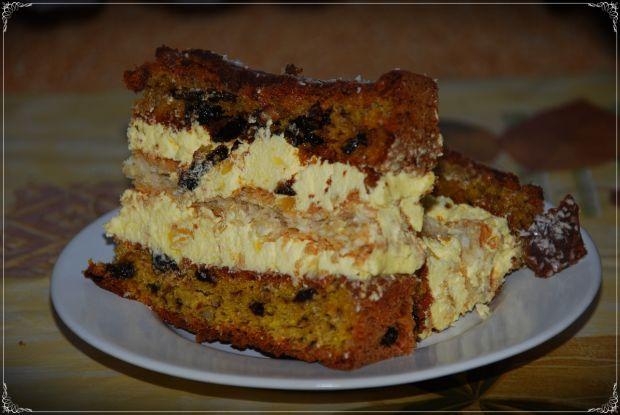 Przepis  tort śliwkowy z alkoholem przepis