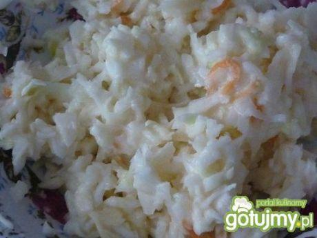 Surówka z białej kapusty z chrzanem  porady kulinarne