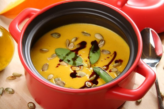 Zupa trio dyniowe