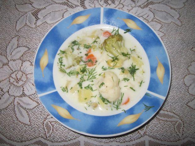 Przepis  zupa kalafiorowa przepis