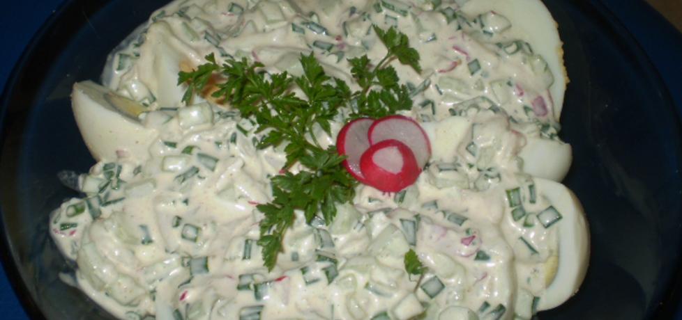 Jajka w sosie wiosennym (autor: izabela29)