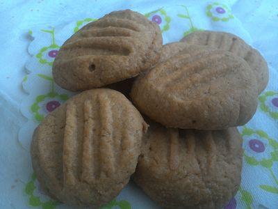Ciasteczka orzechowe bezglutenowe
