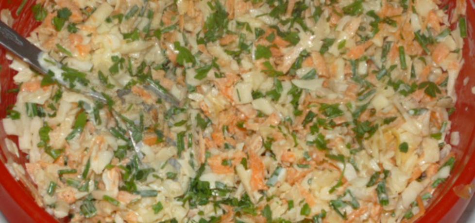 Sałatka do ziemniaków (autor: owocowka)