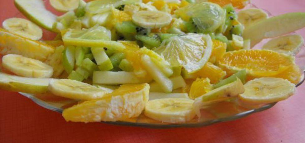 Sałatka owocowy talerz (autor: katarzyna99)