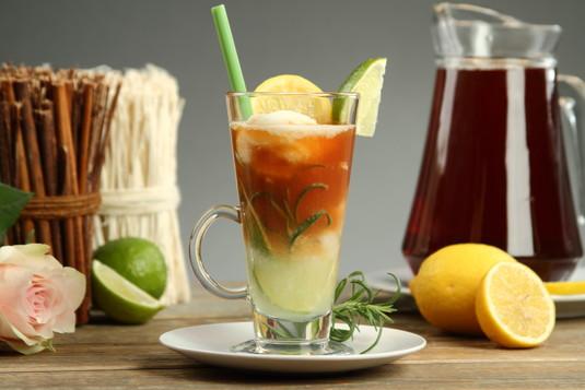 Herbata z sorbetem