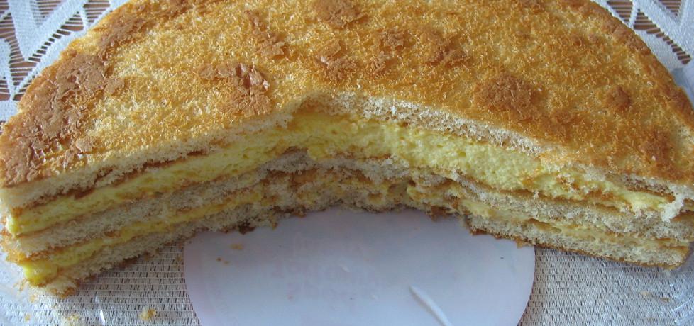 Wilgotne cytrynowe ciasto biszkoptowe (autor: myszka75 ...