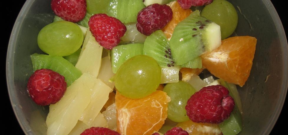 Kolorowa sałatka owocowa (autor: magda60)