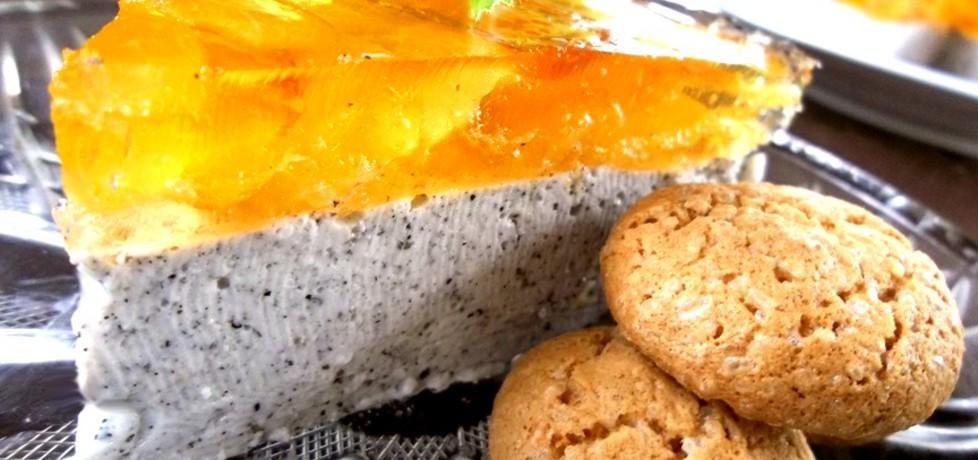 Deser jogurtowy: sezamowy z morelami (autor: caralajna ...