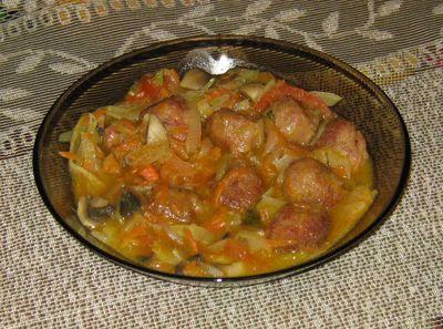 Pulpety w cebulowym sosie