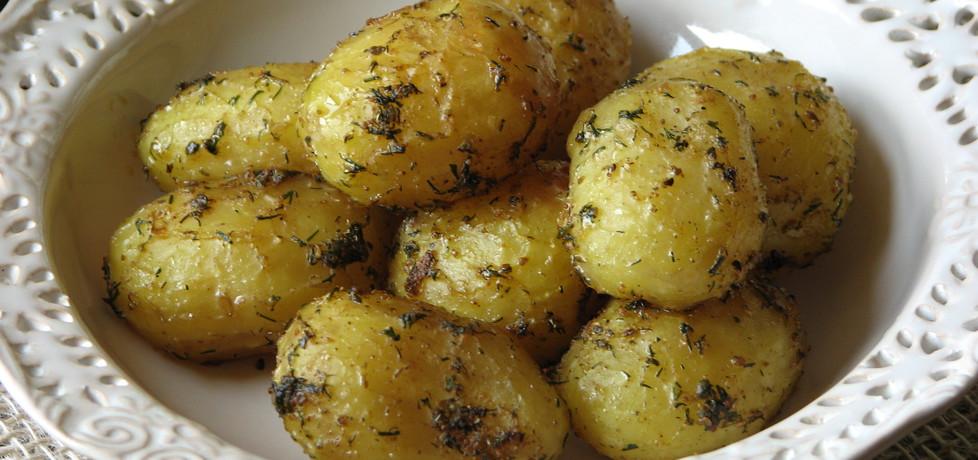 Młode ziemniaki z piekarnika (autor: bogusia-82)