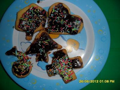 Wesołe ciasteczka z miodem
