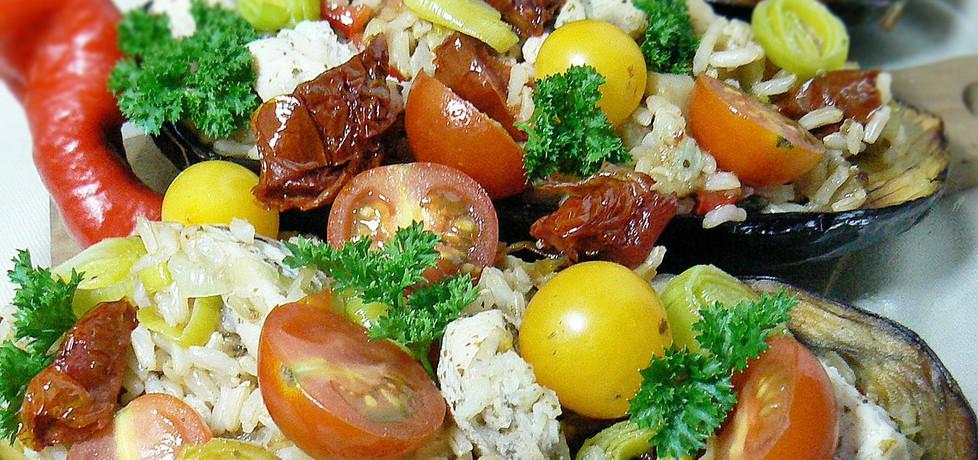 Bakłażan zapkiekany z ryżem i kurczakiem (autor: mysza75 ...