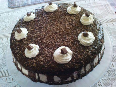 Przepis  tort a'la wuzetka przepis