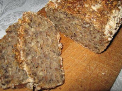 Chleb wieloziarnisty ,,pieczenie