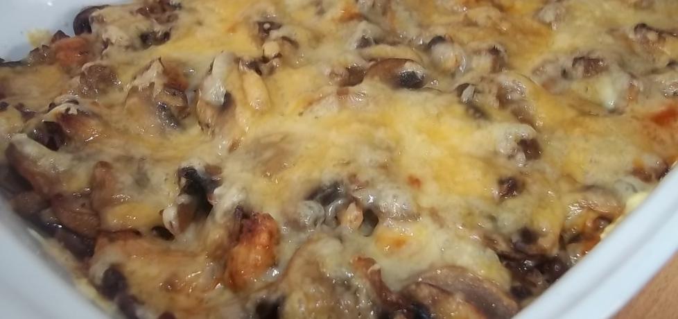 Zapiekanka ziemniaczana z mięsem i pieczarkami (autor: beatris ...