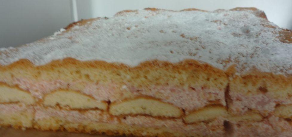 Biszkopt z ciasteczkami (autor: pioge7)