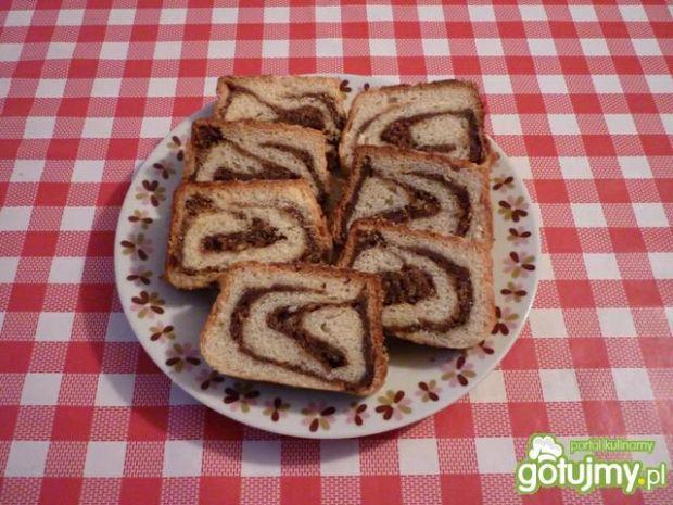 Przepis  ciasto drożdżowe z wkładką kakaową przepis
