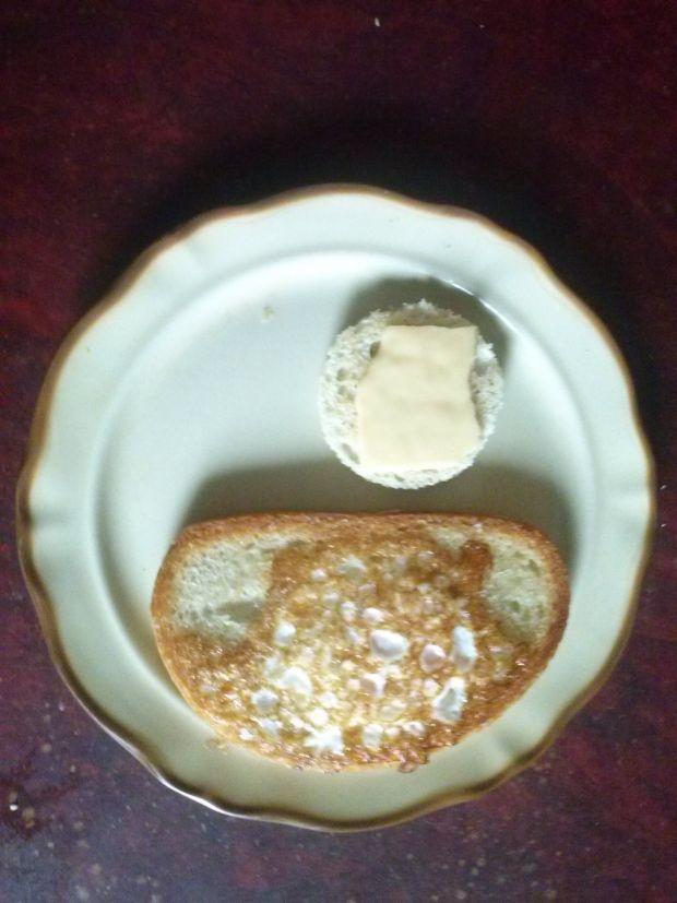 Przepis  jajko w chlebie przepis