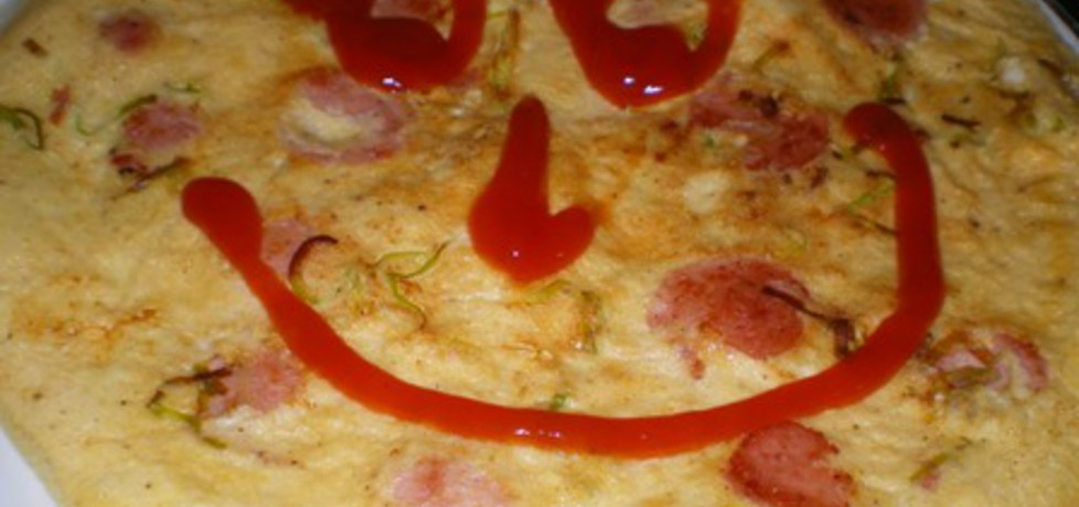 Omlet z parówkami (autor: ilka86)