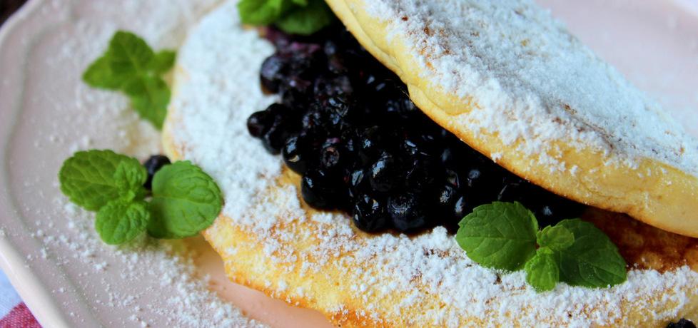 Puszysty omlet z borówkami (autor: ostra-na