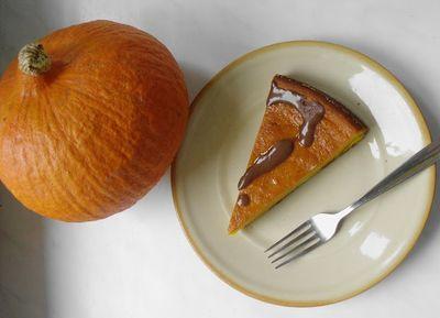 Ciasto dyniowe a'la sernik