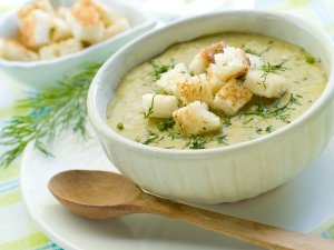 Zupa krem z cukinii  prosty przepis i składniki