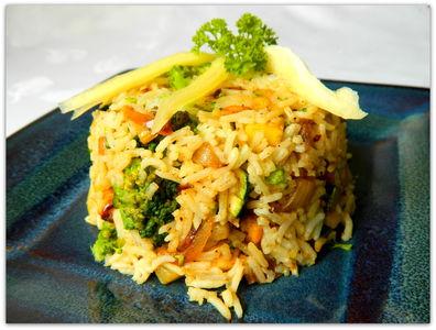 Ekspresowa potrawka z ryżem