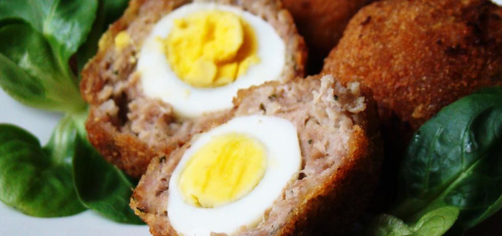 Przepiórcze jajka po szkocku (autor: renia1)