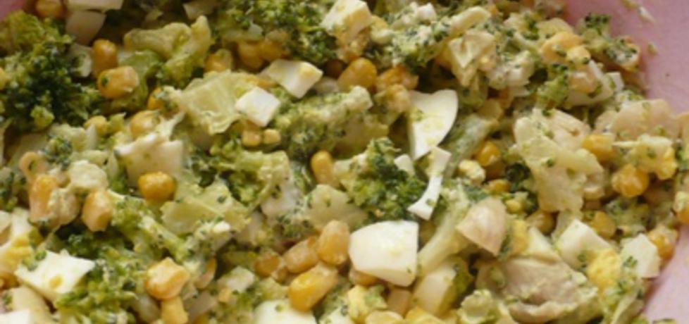Sałatka z brokułami (autor: sylwia26)