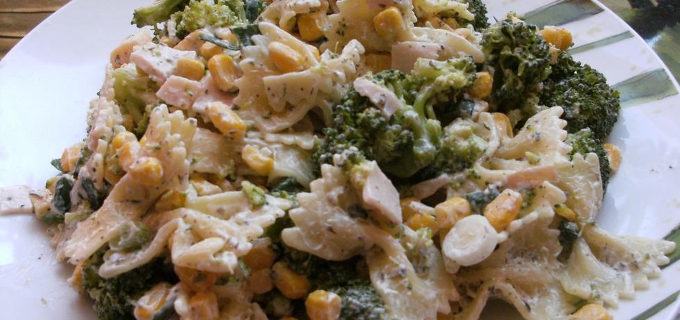 Sałatka z brokułem i makaronem (autor: szpindorio ...