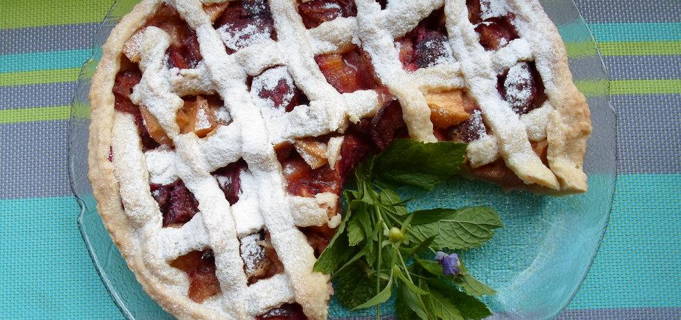 Ciasto jablkowo sliwkowe (autor: dwa-pokoje-z