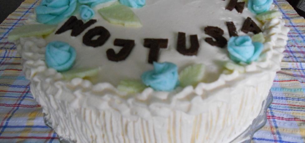 Tort orzechowy z nutą cytryny (autor: benka)