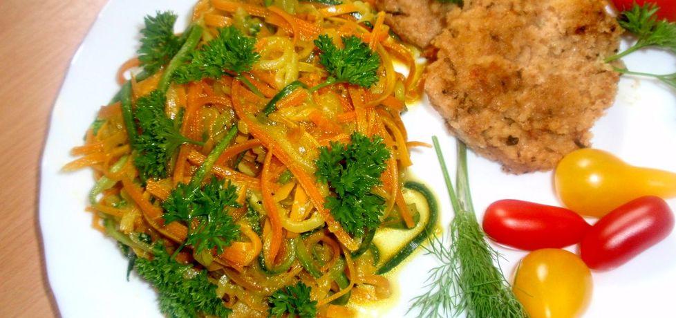 Warzywne spaghetti (autor: gosia56)