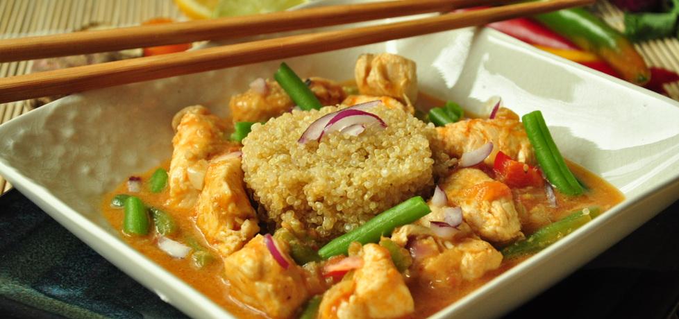 Azjatycka potrawka z indyka z quinoa (autor: wiktoria29 ...