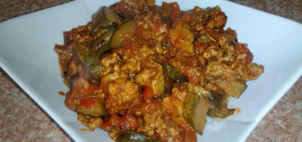 Gulasz warzywny z mięsem mielonym (autor: konczi ...
