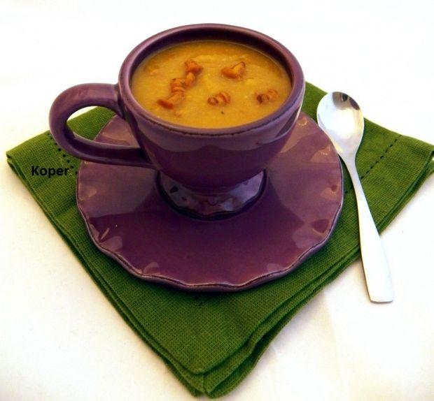 Przepis  kremowa zupa kurkowa przepis