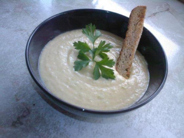 Przepis  zupa krem warzywna z chrzanem przepis