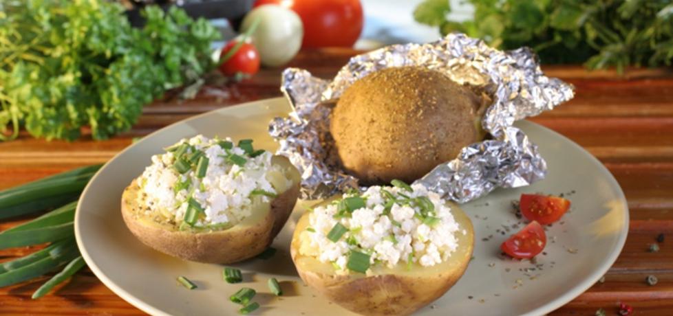 Grill: ziemniaki z białym serem (autor: doradca