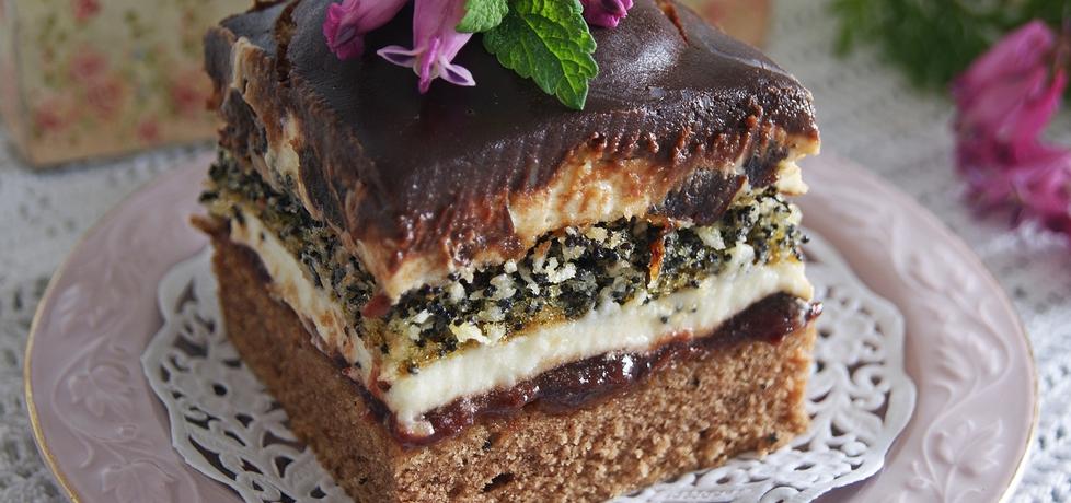 Ciasto pijak ze śliwkami. (autor: violcia)