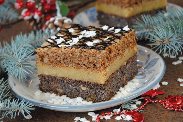 Przepis  ciasto makowo- orzechowe przepis