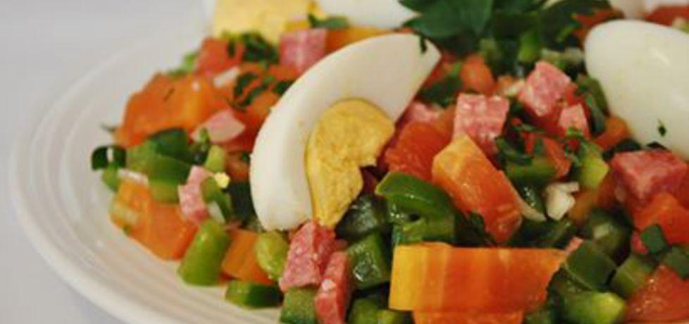 Sałatka z papai z jajkami (autor: grumko)