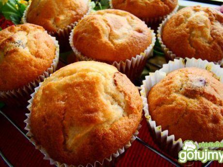 Przepis  muffinki z żurawiną i jabłuszkiem przepis