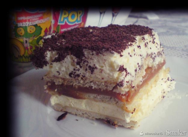 Ciasto krówka(bez pieczenia)