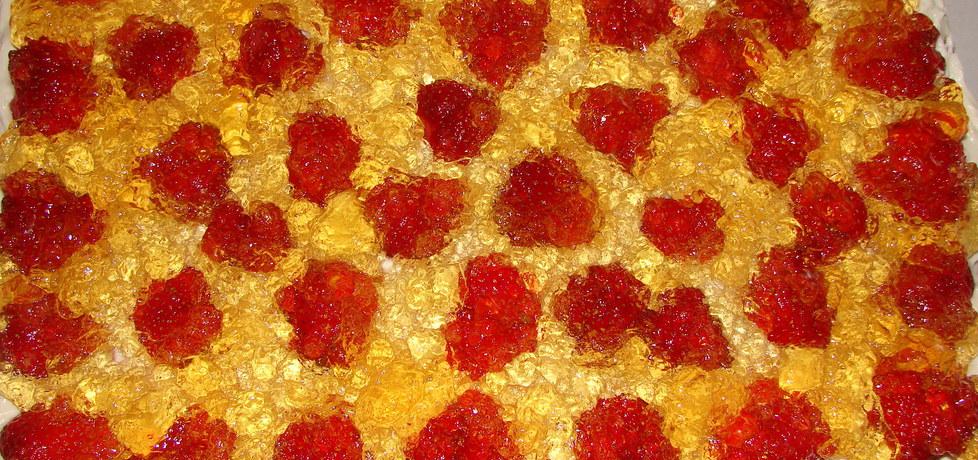 Ciasto biszkoptowe z galaretką (autor: motorek)
