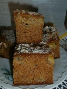 Ciasto korzenne z kiwi
