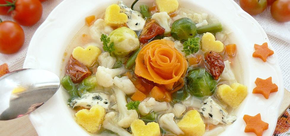 Włoska zupa z polentą (autor: mysza75)